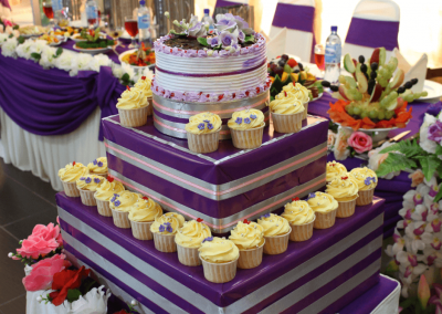 Tema purple & cream
