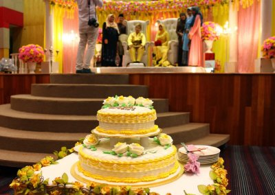 Perkahwinan outside (dewan)