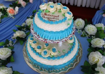 Tema baby blue & cream