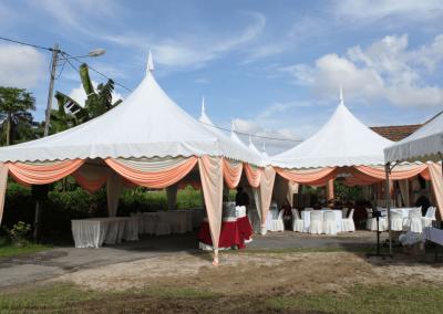 Perkahwinan outside (kanopi)